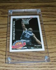 1992-93 HOOPS # 1 (OF 10) SHAQUILLE O'NEAL (MAGIC'S ALL STAR ROOKIES)