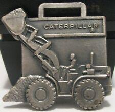Caterpillar Cat Front End Wheel Loader Pocket Watch Fob Construction Equipment