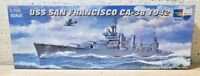 Trumpeter > USS San Francisco CA-38 1942 Cruiser Model Kit, 1:700 Scale [05746]