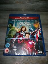 Marvel Avengers Assemble 3D (2D + 3D Blu-ray)  NEW Sealed