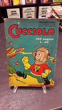 Cucciolo anno II #8 edizioni Alpe 1° edizione 1953 condizioni buone