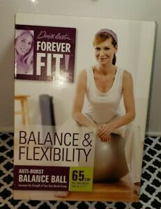 Workout Ball Denise Austin Balance and Flexibility In Box