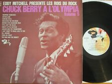 ORIG FRENCH 1965 VINYL LP CHUCK BERRY A L'OLYMPIA VOL 5 EDDY MITCHELL ROCKABILLY