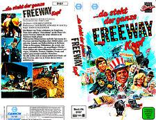 VHS Da steht der completa FREEWAY Acque profonde (1981) - Beau Ponti - Cannon