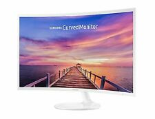 """Samsung 32"""" Curved LED FHD Monitor - CF391 - White - MINT CONDITION"""