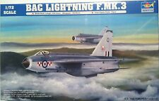 1:72 Trumpeter 1635 BAC Lightning F.Mk.3 Plastic Model Kit B