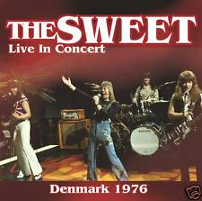 CD The Sweet Live in Concert Danimarca 1976