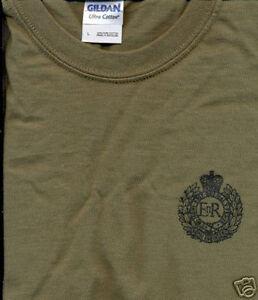 BRITISH ARMY ROYAL ENGINEERS REG T-SHIRT all sizes