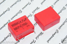 2pcs - WIMA MKP4 4.7uF (4.7µF 4,7uF) 250V 5% pich:27.5mm Polypropylene Capacitor