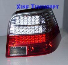 Fari Posteriori LED ROSSI e CROMATI VW GOLF 4 IV 1J R32