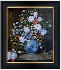 Framed Hand Painted Oil Painting Repro Renoir, Pierre Spring Bouquet 20x24in