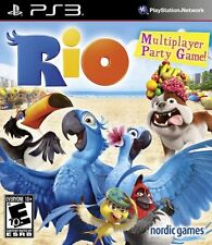 Playstation 3 - Rio - Ps3 Video Game Sony Factory for kid Sealed Christmas month