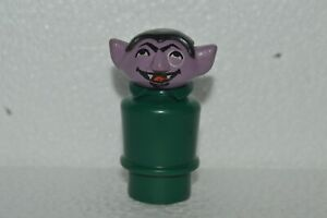 1979 Fisher Price Little People THE COUNT Regular Base Original Used Excellent