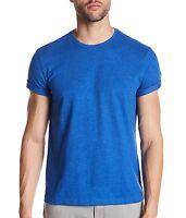 John Varvatos Star USA Men's Short Sleeve Crew Neck Tee Shirt Wave Blue