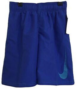 Nike Boys Swim Trunks Hyper Royal Blue Size 4