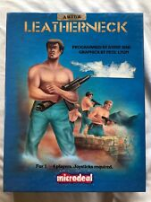 Leatherneck 1988 Commodore Amiga Complete Big Box Game