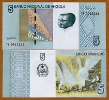 Angola, 5 Kwanzas, 2012 (2017), P-New, UNC > YZ, REPLACEMENT