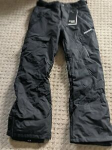 NEW Boulder Gear Men's Boulder Cargo Pant Ski Pants - Size S, Black