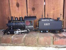 LGB G Scale ATSF Santa Fe Locomotive & Tender 1217 - Free S&H USA