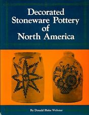 BLAKE WEBSTER Donald, Decorated Stoneware Pottery of North America. 1985