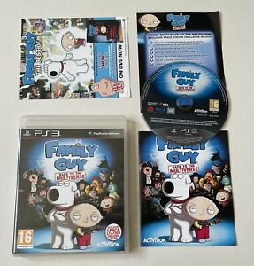 Family Guy: Back to the Multiverse Sony PlayStation 3 PS3 Complete PAL *READ*
