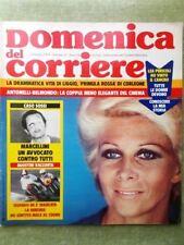 La Domenica del Corriere 2 Giugno 1974 Brigate Rosse Sossi Mathieu Gaber Harlem