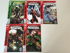 Justice League Rise of Arsenal #1-4 + Rise and Fall Special #1 comic book lot