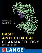 LANGE Basic Science: Basic and Clinical Pharmacology by Bertram G. Katzung...