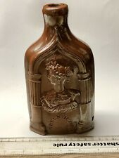 More details for 1840 reform flask - queen victoria / duchess of kent - mint condition (g807)