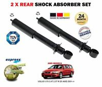 FOR VOLVO V70 2.4T 2.5T R D5 AWD 2001-2007 2 x REAR SHOCK SHOCKER ABSORBER SET