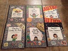 6 Amelia Books by Marissa Moss (The All New Amelia, Luv, Amelia Luv, Nadia...Etc