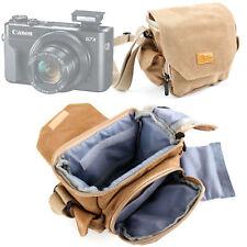 Puente Negro y Rojo cámara caso para Canon PowerShot SX700 SX710 HS y SX610 HS