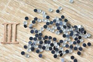 Clear Crystal 3mm/SS10 Hotfix 300pcs-1500pcs Glass Rhinestone Iron On Flatback
