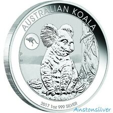 2017 Australian Koala With Kangaroo Privy Mark - BU - Limited Mintage 50,000