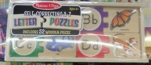 Melissa and Doug - Self Correcting Letter Puzzle