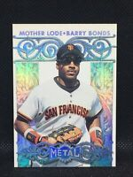 1996 Metal Universe Mother Lode #1of14 BARRY BONDS San Fran GIANTS Star MINT