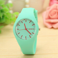 NEW Men Gents Women Ladies Silicon/Rubber Fashion Wrist Watch UNISEX Xmas Gift
