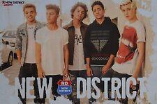 NEW DISTRICT - A3 Poster (ca. 42 x 28 cm) - Jaden Bojsen Clippings Fan Sammlung