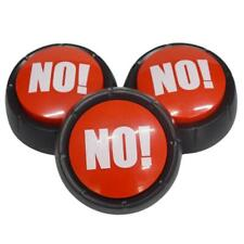 NO! NO!Sound Button Music Box Novelty Gag Toy Event Party Supplies Decor New Hot
