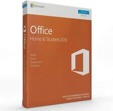 Office  2016 Home and Student for PC Word EXcel PowerPoint PC Key Card Open Box