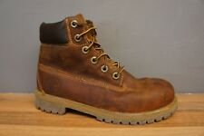 Timberland Womens Size 4.5 Brown Leather Premium Walking Hiking Ladies Boots