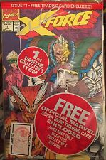 X-FORCE # 1 (VF)•Limited Edition•SiGnEd by ROB LIEFELD•SHATTERSTAR Card•Sticker•