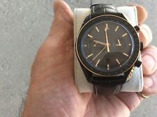 OMEGA SPEEDMASTER DARK SIDE OF THE MOON  GOLD & CERAMIC BOX & PAPERS 311.63.44.5