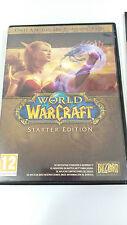 WORLD OF WARCRAFT STARTER EDITION JUEGO PARA PC 2 X DVD-ROM EN ESPAÑOL BLIZZARD