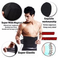 Lumbar Support Belt Lower Back Brace Waist Stabilizer Herniated Disc Sciatica US