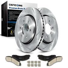6 Lug 2Pcs Front Brake Rotors+ 4PcS Front Brake Pads For Ford F150 2010-2014
