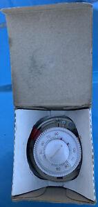 New Old Stock Vintage Mercury Honeywell Thermostat T87F 2873 Heating Round