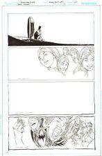 Batman: The Dark Knight #17 p.20 Mad Hatter Surreal End Pg 2013 Ethan Van Sciver Comic Art