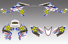 SUZUKI LTZ90 GRAPHICS KIT TO FIT LTZ 90 STICKERS QUAD DECALS STICKER GRAPHIC
