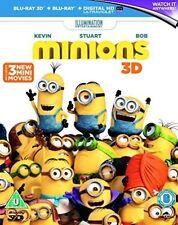 Minions Blu-ray 3d and UV Copy Region B